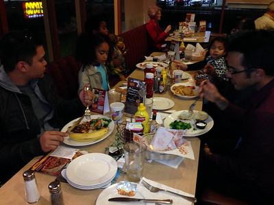 Dinnner at Coco's Restaurant on November 20, 2013.