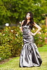 Jaz's prom dress for 2011.  I helped pick it out.  :-)  I did buy it, though.<br /> <br /> We went to the Rose Garden in San Jose, California.  I believe there were other teenagers there taking pictures for the prom as well.<br /> <br /> Camera geek info:  Off camera lighting with the Radio Poppers.  I like them.  Probably taken with the 70 -200 mm IS 2.8 lens