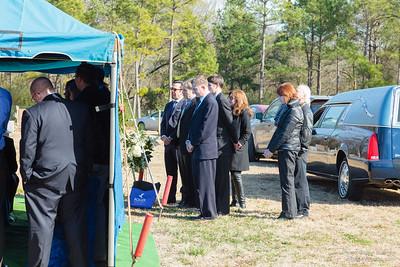Graveside service for Joseph H. Buehrle ll