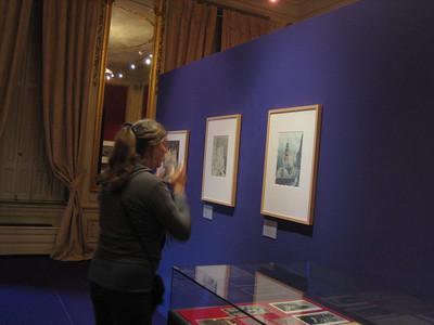 Jean at Escher exhibit in Den Haag