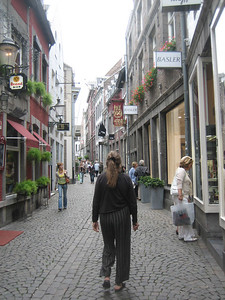 on the streets of Maastricht