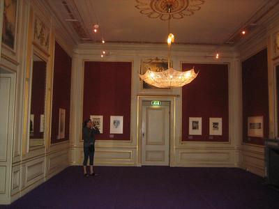 Jean at Escher exhibit