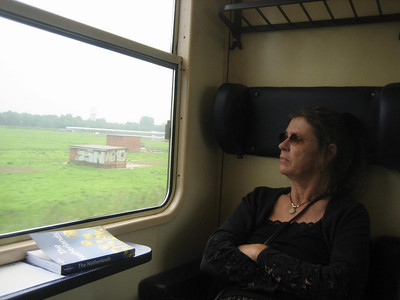 on train from Den Haag to Maastricht