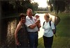 1990-07 Kent, Jean, Suzanna & Kirsten in Mijdrecht, Netherlands