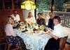 1992-11 Thanksgiving Dinner at Jean & Kent's (Kirsten had flu & Slept)