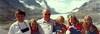 1998-08-03 Kent, Jean, Suzanna, Katrina, Maren, Erik, Kirsten by Glacier