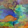 """Fish Pond""  29"" X  37""  sold"