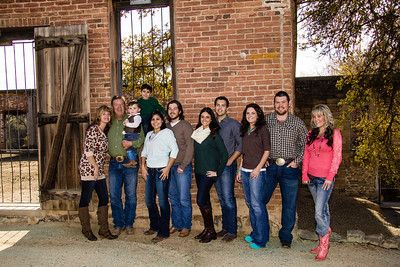 Jeff & Diane Bridgewater Family Shoot