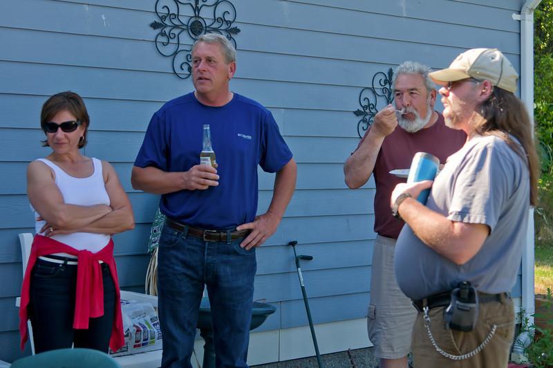Jeff, Rosco, and Ida's B-day
