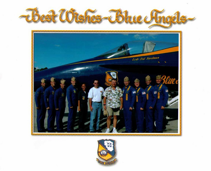 Jeff & Derek with the Blue Angel's in Gainsville. Thanks to Rick & Cheryl for getting their daughter Dawn the Crew Chief to get us passes. 03/22/15 to 03/29/15 Jeff on Freedom of the Seas