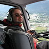 Jeff in Helicopter leaving Base Camp on Glacier in Juneau 06/03/07 03/22/15 to 03/29/15 Jeff on Freedom of the Seas