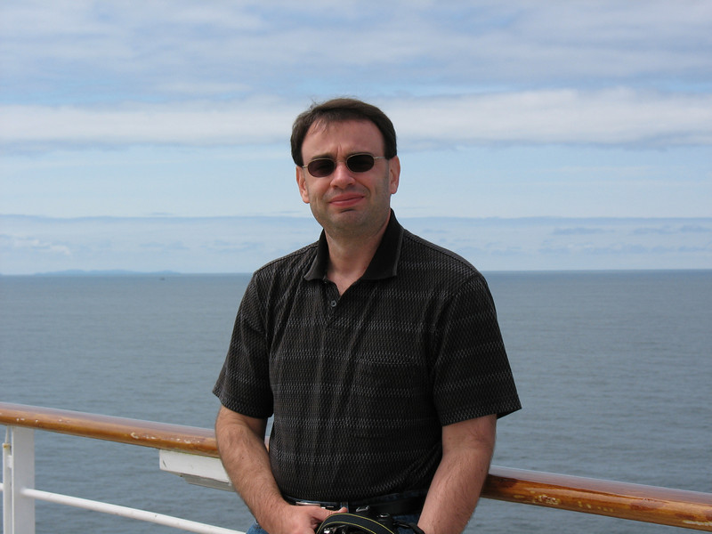 Jeff on the Lido Deck on Celebrity Summit while going Southbound in the Inside Passage 06/07/07 03/22/15 to 03/29/15 Jeff on Freedom of the Seas