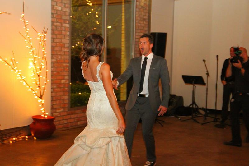 1st dance.