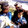 Baptism - 2 months - with Gma Opal, Gpa John and Randy