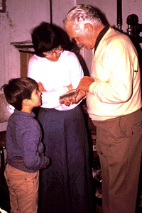 1977 - Jeff & Jo talk with Harold Beatty about rocks.