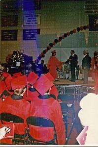 1987 - Receiving diploma