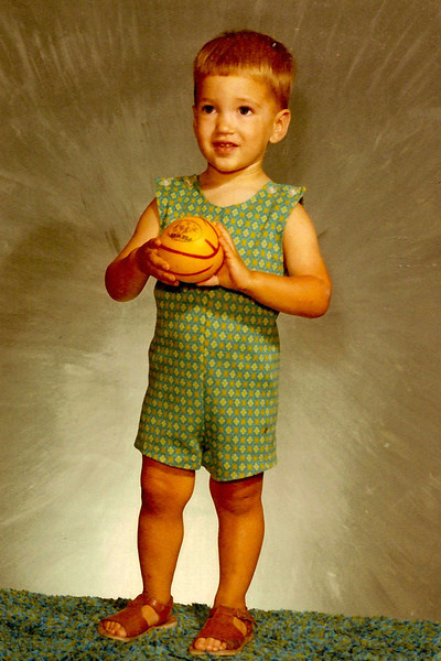 1970 - standing with ball