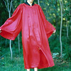 1987 - Graduation - back yard - all gowned up