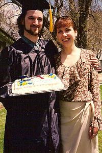 Jeff & Lori with cake