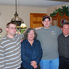 Carol Robertson Schleeter(aunt) & her son George Burnash(cousin) with Bryan and David