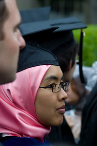The variety of graduates was endless.