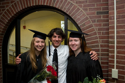 Katrina, Jeff and Laura.  They have been suitemates for the last four years and very good friends.  Katrina and Laura are pre-med.