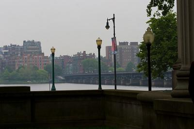 Harvard Bridge in the background.