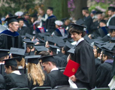 And back to the seat.  MIT keeps strict tabs on the sequence otherwise wrong people will get the diploma.  They check your position in line at many checkpoints so that you align with the list of diplomas being handed out.  Even if someone gets sick and is rushed out, it does not mess them up.