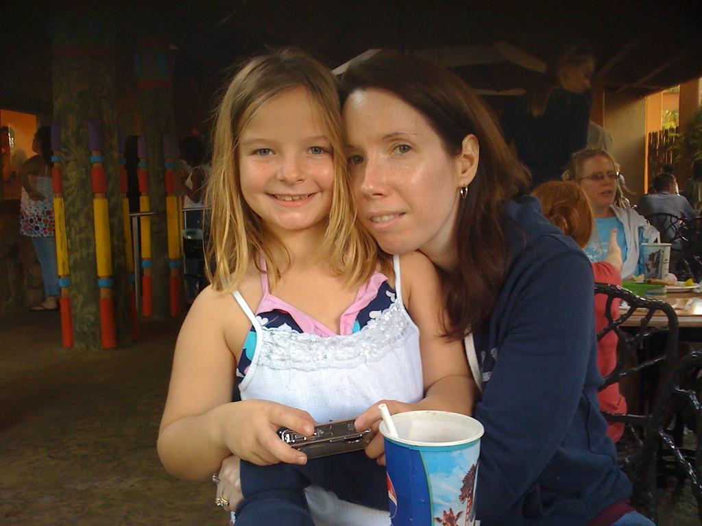 Michele and her niece Alex.