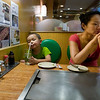 "Having ""japanese pancake"" or Okinomiyaki...i think it's called"