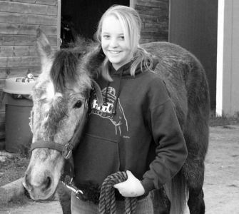 Jenni and her horses