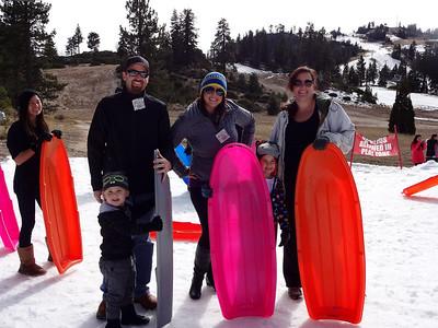 Jennifer's Birthday Weekend at Lake Arrowhead, January 24-26, 2014