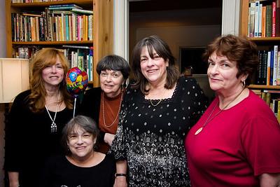 Bren, Jenny, Sheila, Pam, and Myra.