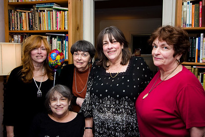 Bren, Jenny, Sheila, Pam, and Myra.