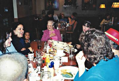Jenny, Missy, Noah, Granny and Len - 2002