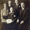 The Jensen family in Los Angeles, around 1916-18<br /> Left to right: Catherine, Carl, Fritz Jr., Adam, and Fritz Sr.
