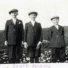 Carl, Andy and Fritz Jensen, 1910's