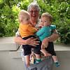One Happy Grandma, Two Happy Babies