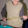 One Christmas we gave Jerry a little pool table.  He really got into the spirit of playing pool in the living room.
