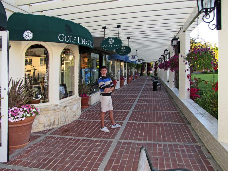 Pebble Beach shops