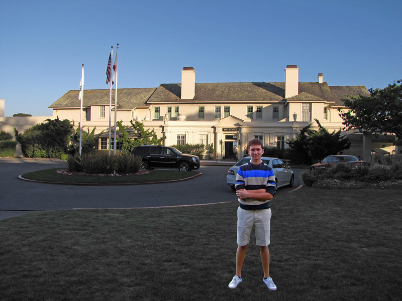 Jesse, Lodge at Pebble Beach, June 29, 2010