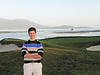 Jesse, 18th green, Pebble Beach