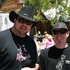 Nephew Craig Zobec and his brother in law Brian Waldrup, at the barbque competition in Frisco