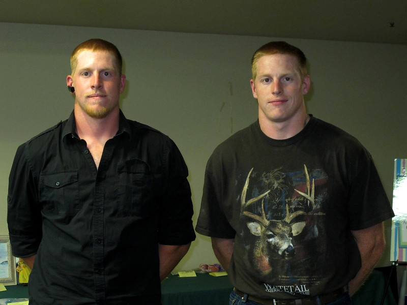 Twins Paul and Keith Rowlett