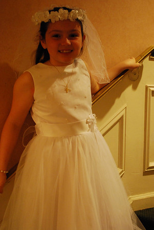 Jessica's 1st Communion, May 1st 2010