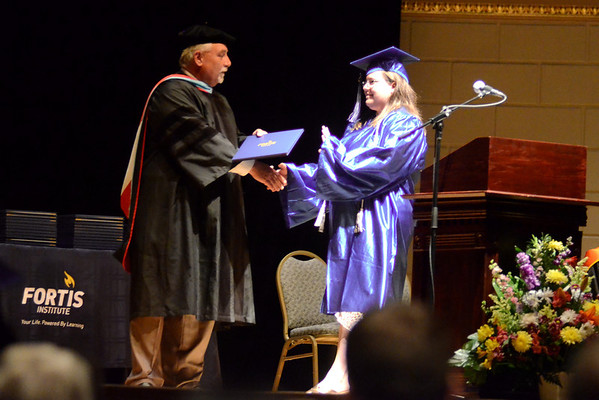 Jessie Graduates Medical Assistant School