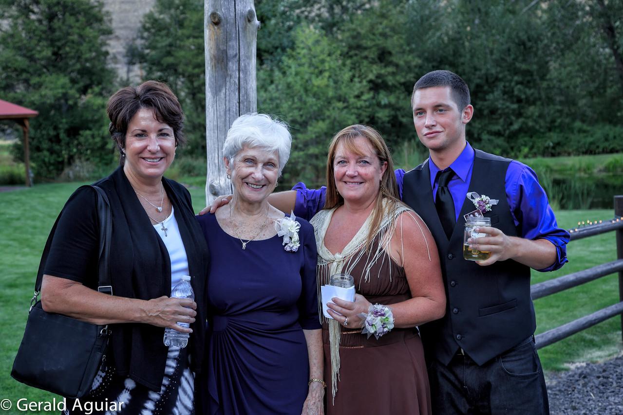 Lauri, Mom, Jane and Jake