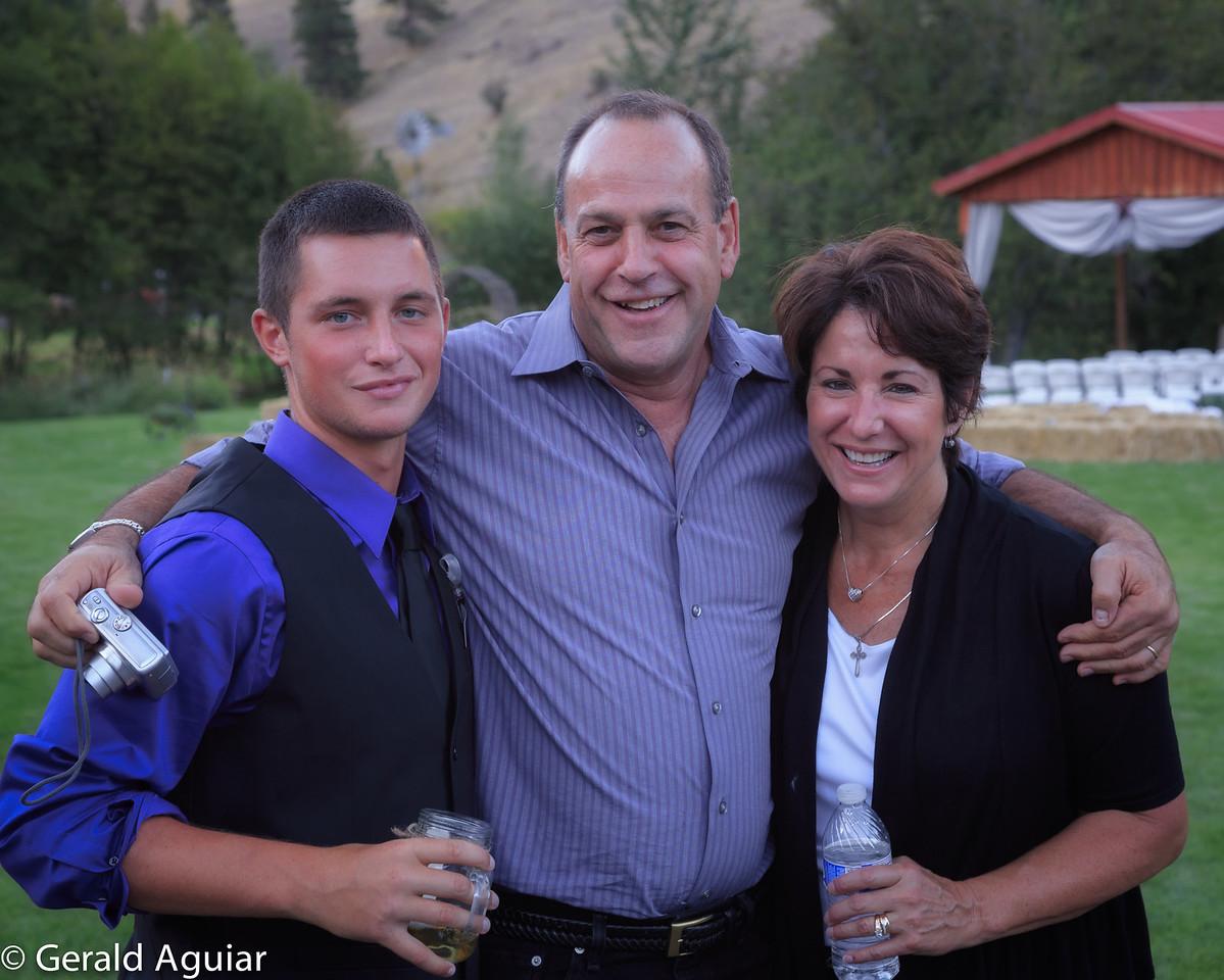 Jake, Mark and Lauri