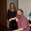 Lisa Cole and Randy Moench, my bro.