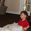 Cole playing peek a boo with Timmy